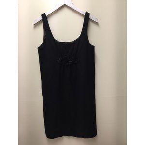 J. Crew Women's Size S Black Wool Sleeveless Dress
